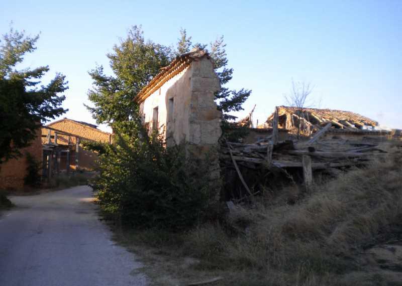 Edificación en ruina.