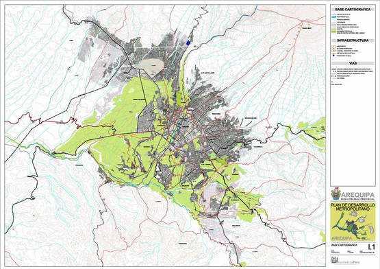 Cartografía del Area Metropolitana
