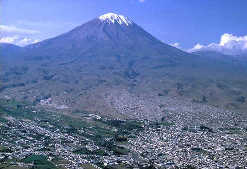 Volcan Misti. FUENTE: Arequipa