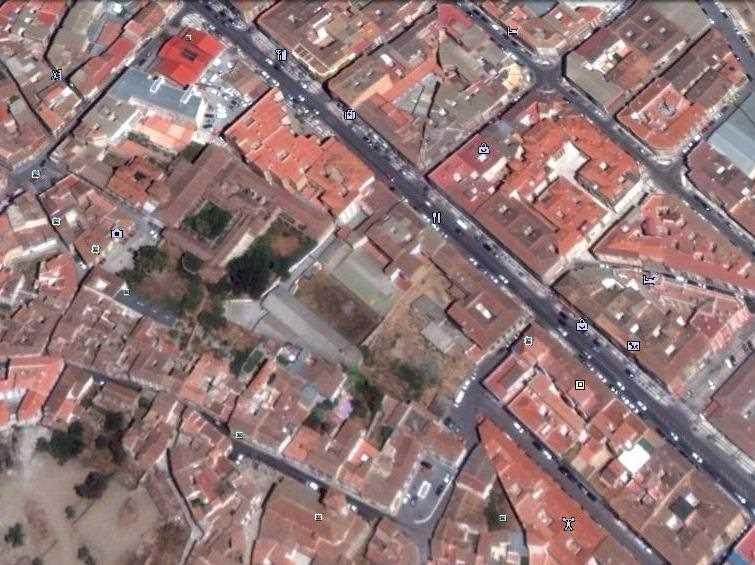Iglesia y Convento de S. Francisco en Guadix (Granada). FUENTE: googlemaps