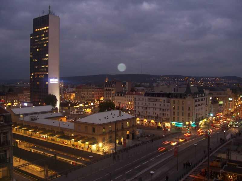 Imagen del Barrio de la estación de Nancy (Francia). FUENTE: informacion-francia.com