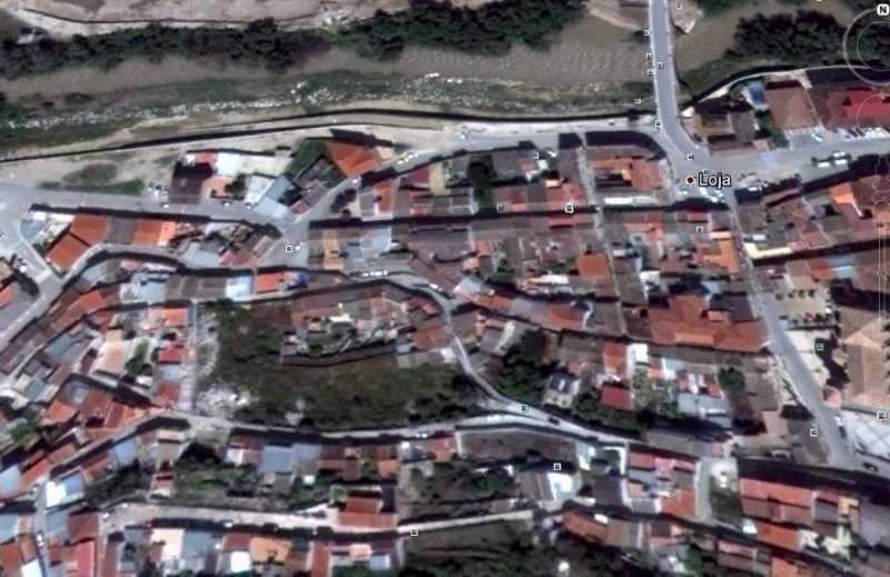 Barrio de la Alfaguara en Loja. FUENTE: googlemaps