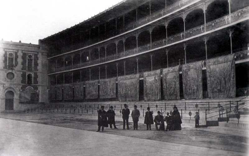El froton en 1900. FUENTE: urbanity.es