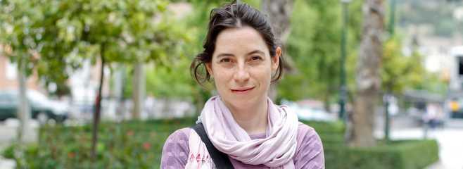 Marta Gutierrez Blasco, Decana del COAGR. FUENTE: granadadigital.com