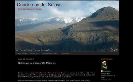 Captura web. FUENTE: cuadernosdelsulayr.com