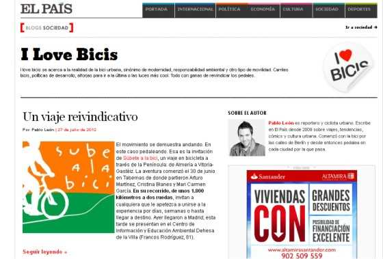 Captura del blog. FUENTE: blogs.elpais.com