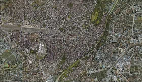 Munich. FUENTE: Google Earth