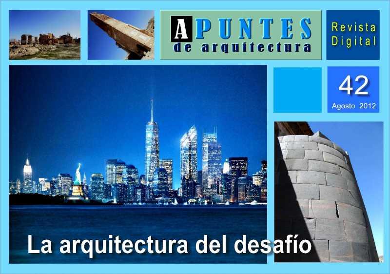 Potada del numero 42. FUENTE: apuntesdearquitecturadigital.blogspot.com.es