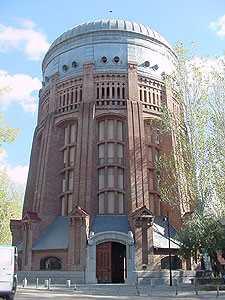 Depósito elevado Canal de Isabel II. Madrid. Obra de D. Eduardo Torroja. ICCP