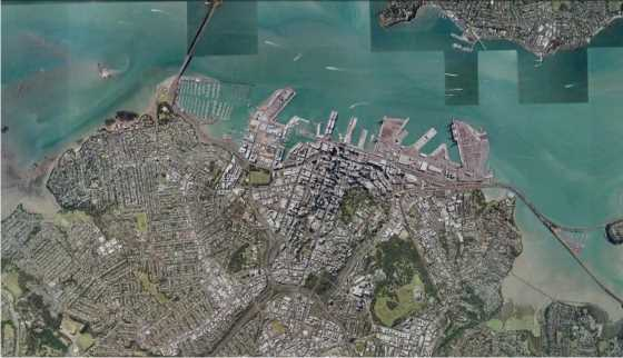 Auckland City. FUENTE: Gooogle Earth