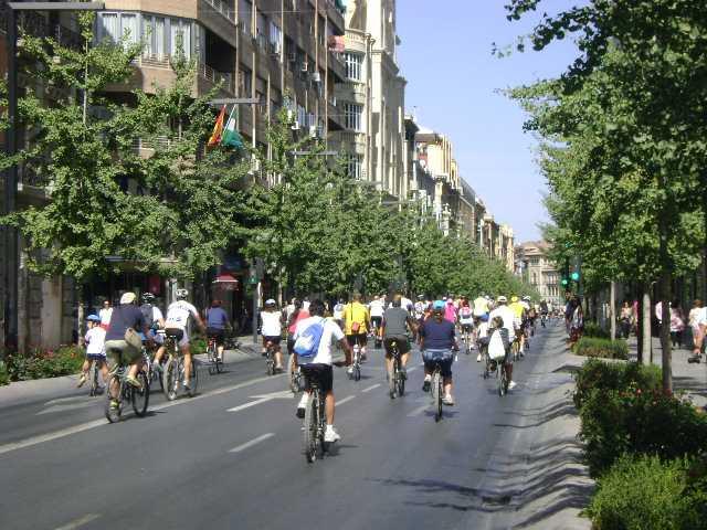 Marcha Ciclista por Granada el domingo 23 de septiembre