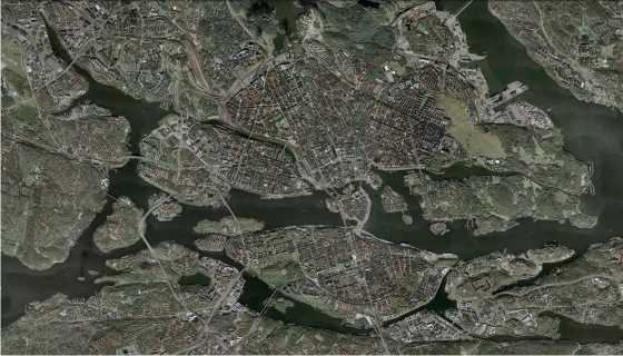 Estocolmo. FUENTE: Google Earth
