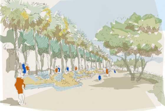 Imagen objetivo proyecto Parque Kaukari. FUENTE: Anteproyecto Parque Kaukari