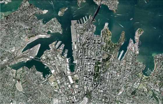 Sidney. FUENTE: Google Earth