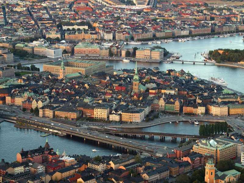 Estocolmo. Vista aerea. FUENTE: portalviajar.com