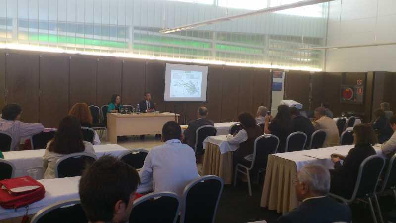 Presentación de DCC a cargo de Juan Carlos Garcia de los Reyes. Fuente: elaboración propia