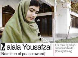Malala yousafzai. FUENTE: www.bewajah.com