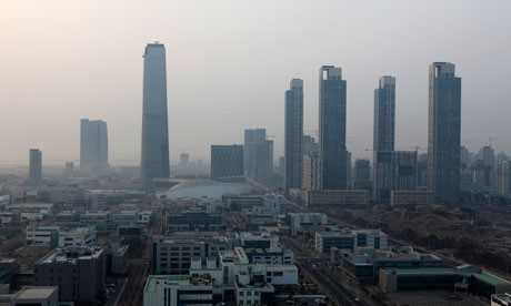 Songdo, Smart City. FUENTE guardian.co.uk