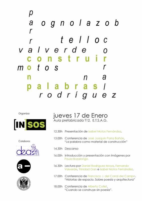 """Programa ciclo """"Construir con Palabras"""". Fuente: in-sos.tumblr.com"""