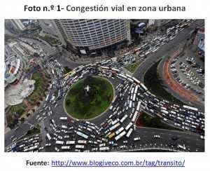 Congestion Vehicular. FUENTE: apuntesdearquitectura.com