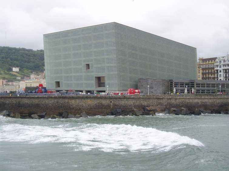 Kursaal, de Rafael Moneo, Premio Principe de Asturias de las Artes 2012. Fuente: epdlp.com
