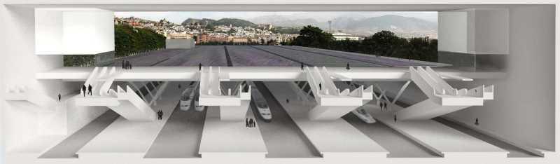 Vista del proyecto de Moneo. FUENTE: vivireltren.es