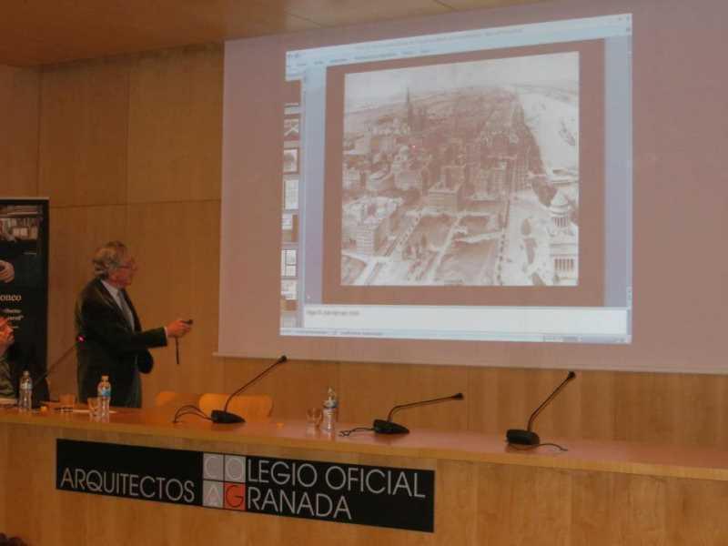 Conferencia de Rafael Moneo. FUENTE: facebook COAG
