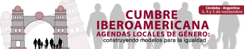Cartel anunciador de la I CUmbre celebrada en Cordoba, Argentina. FUENTE: uimunicipalistas.org