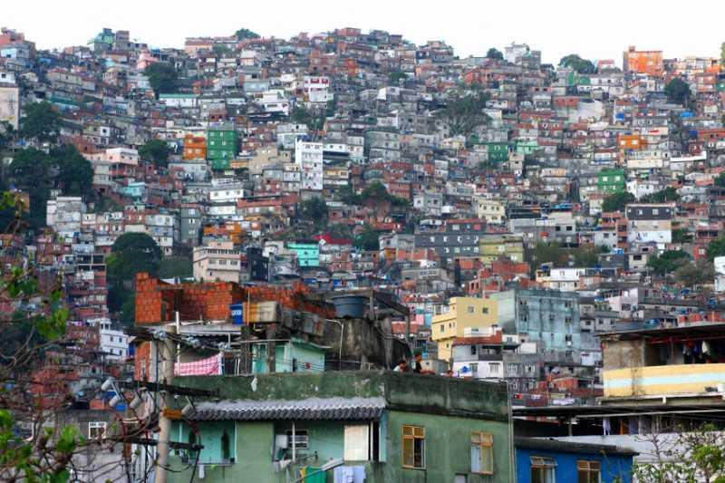 Favelas en Brasil. Fuente: Iniciativa Latinoamericana del Paisaje