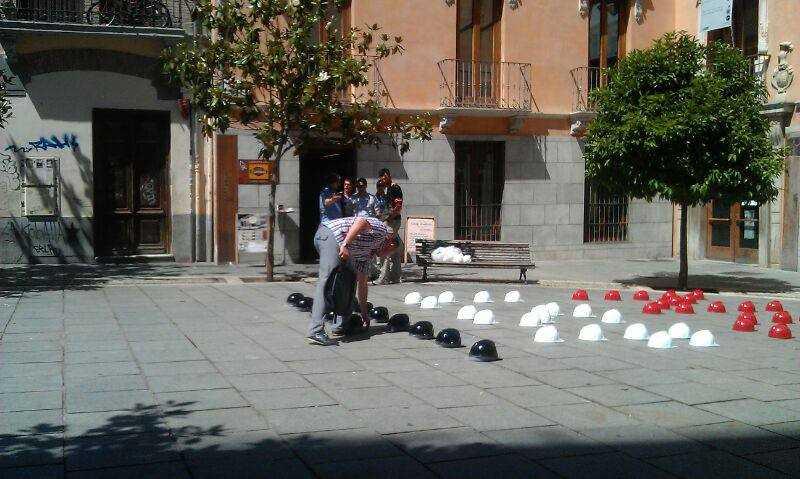 No a la LSP. Iniciativa #21JCascoNegro. Fuente: Colegio Oficial de Arquitectos de Granada.