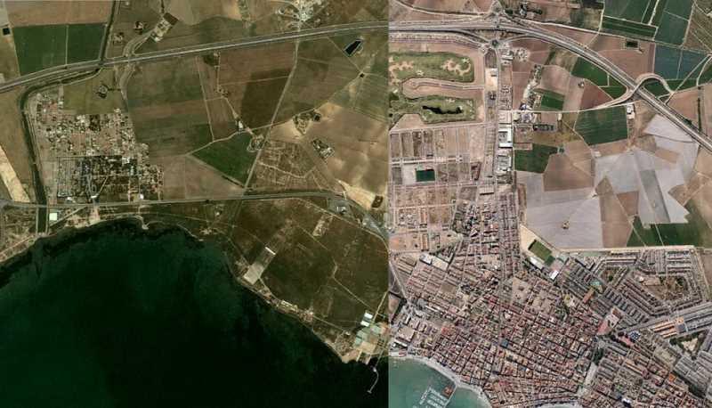 Los Alcazares Murcia. Fuente: nacionrotonda.com