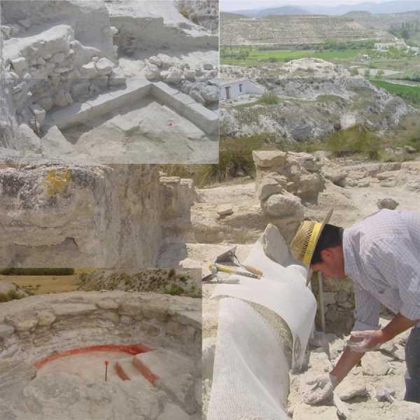 Estudios del yacimiento de la Necrópolis Iberica de Tútugi en Galera. Fuente: Elaboración propia.