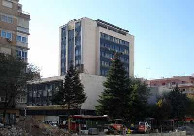 Edificio de los Sindicados. Granada. Fuente: iaph.es