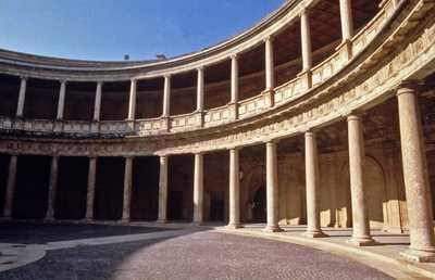 Palacio de Carlos V. Granada.Fuente: Iaph.es