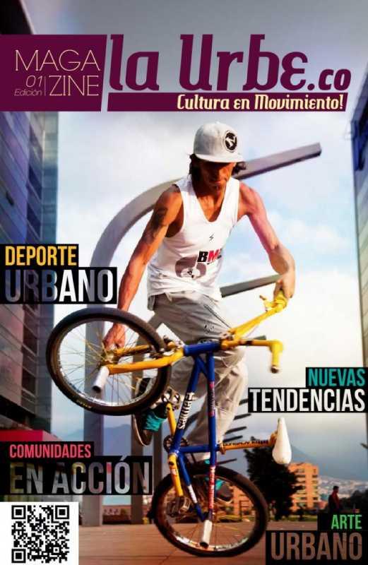 Portada del Magazine. Fuente: laurbe.co