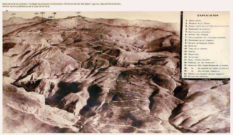 FUENTE: Observatorio de Cambio Global de Sierra Nevada. Metodología y seguimiento. 2012