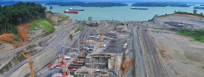 Ampliación del Canal de Panamá. Fuente: marcaespana.es