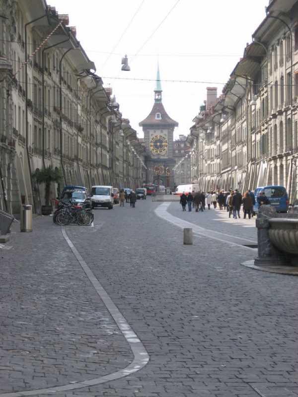 Berna, callle de la Ciudad Vieja. Fuente: Panoramio.com