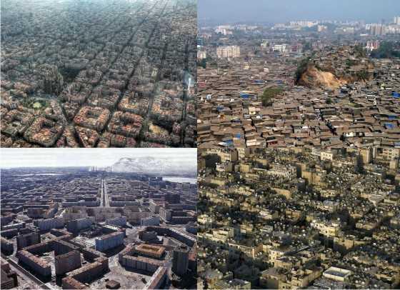 """Montaje de varias de las ciudades """"visitadas"""". Fuente: jotdown.es"""