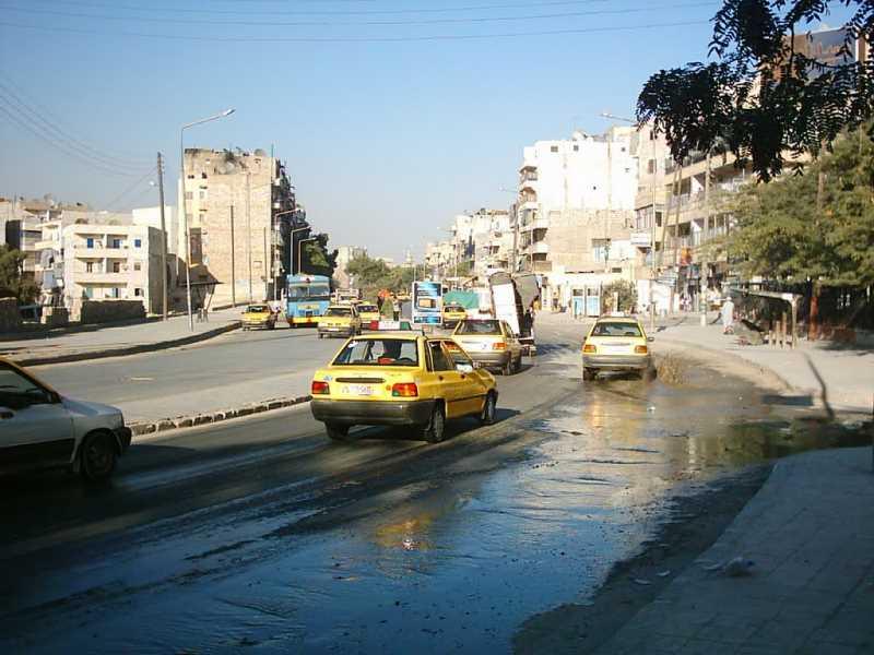 Calle de Alepo. Fuente: Panoramio