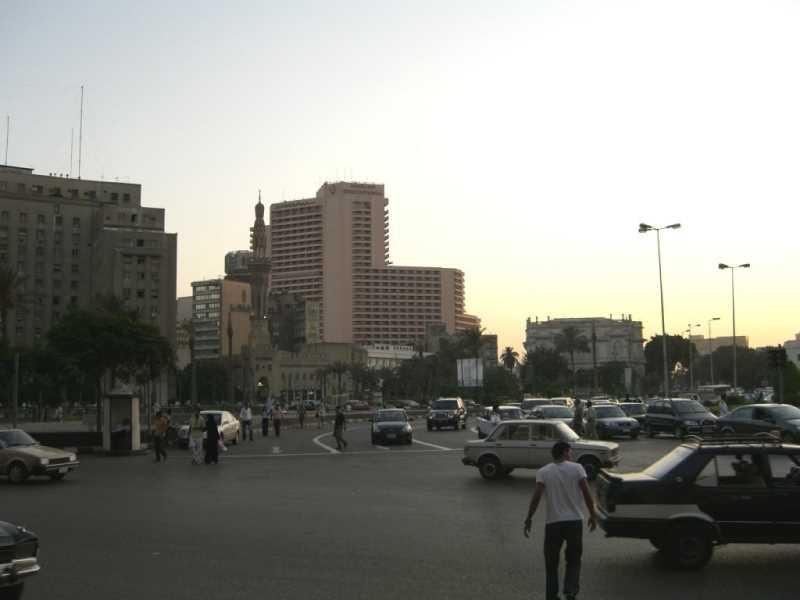 Plaza Tahrir. Fuente: Panoramio
