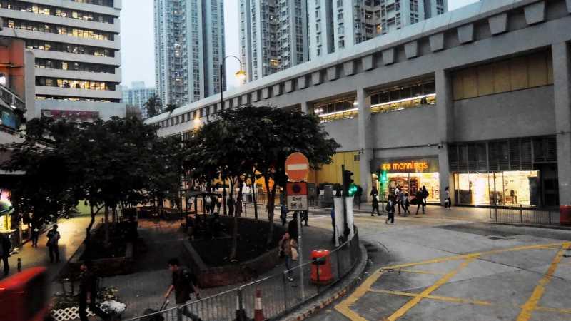 Calle de  Hong Kong. Fuente: Panoramio