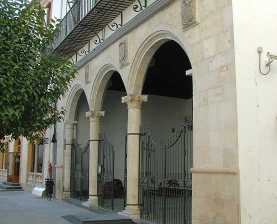 Antiguo ayuntamiento. Fuente: www.museoarqueologicobaza.es
