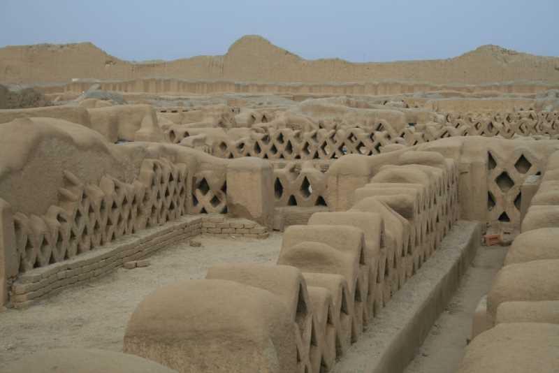 Ruinas de  Cha Chan. Fuente: panoramio