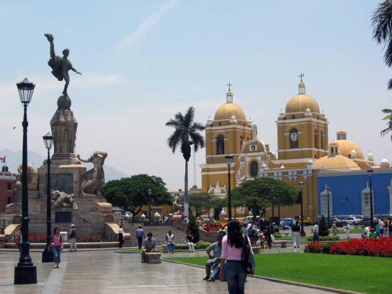 Plaza Mayor de Trujillo. Fuente: panoramio
