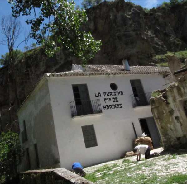 Fábrica de Harina la Purísima en proceso de restauración. Fuente: www.fcalapurisima.com