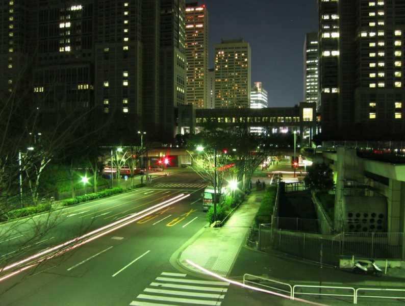 Imagen nocturna. Fuente: Panoramio