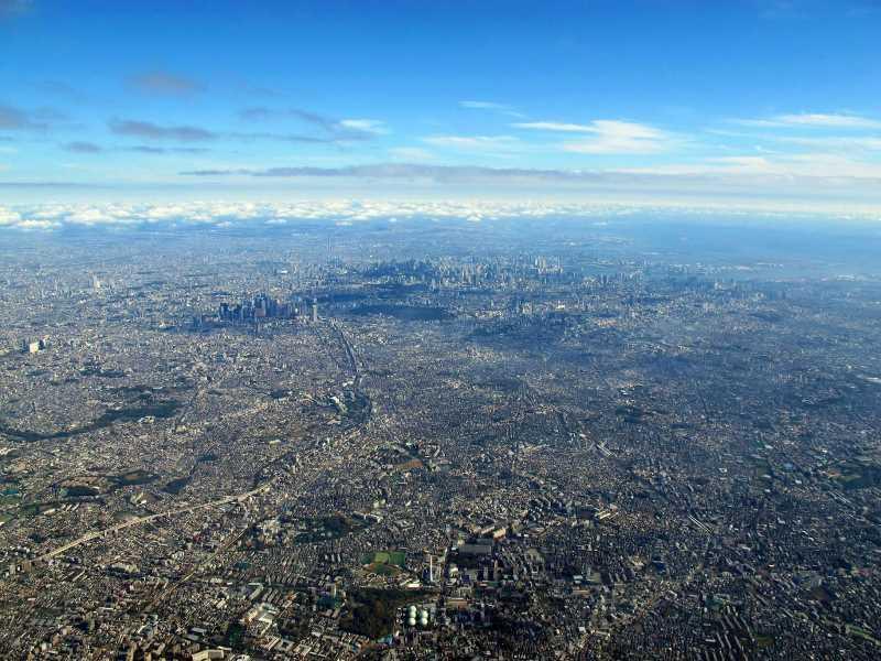 El mar de cemento de Tokio. Fuente: jotdown.es