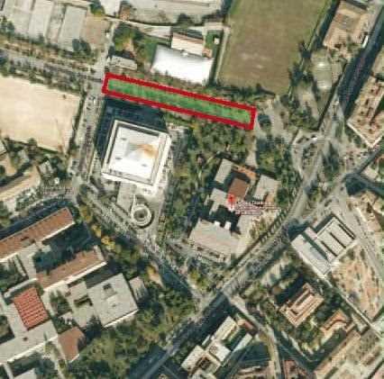 Paseíllos Universitarios Campus Fuentenueva. Fuente: coaatgr.es
