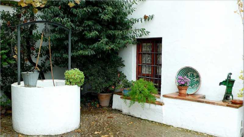 Imagen del patio. Fuente www.patronatogarcialorca.org